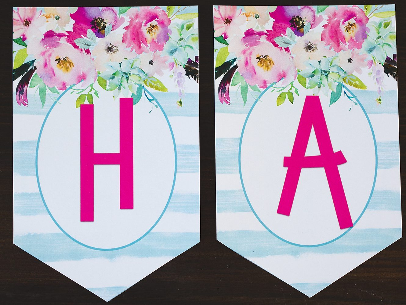 Free Printable Birthday Banner - Six Clever Sisters - Diy Birthday Banner Free Printable