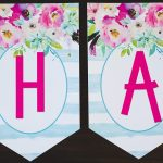 Free Printable Birthday Banner   Six Clever Sisters   Free Printable Happy Birthday Banner