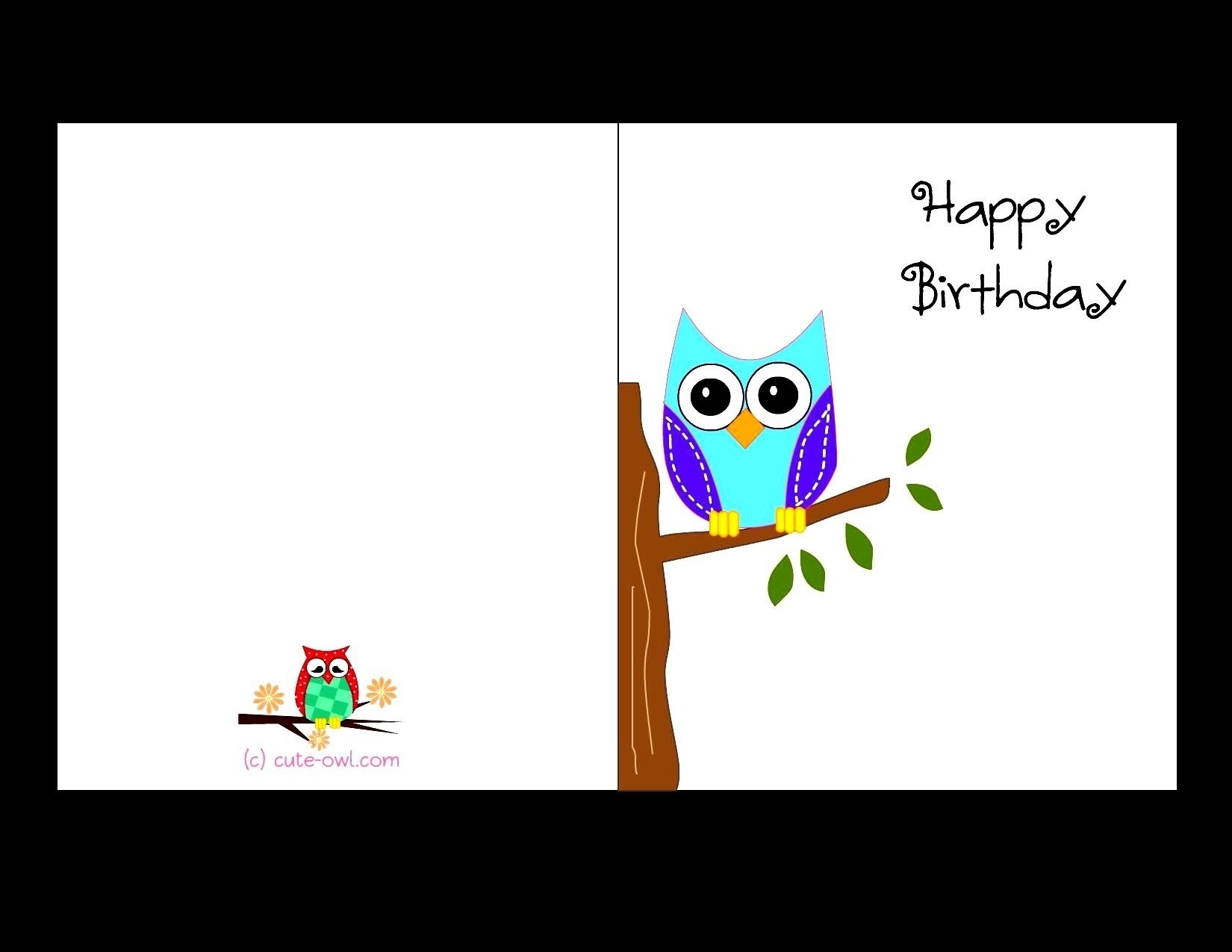Free Printable Birthday Cards For Adults   World Of Label - Free Printable Birthday Cards For Adults