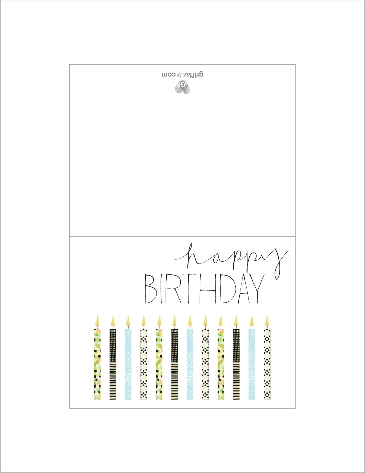 Free Printable Birthday Cards For Dad – Scalsys - Free Printable Birthday Cards For Dad