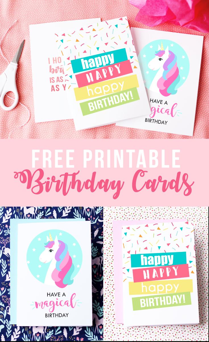 Free Printable Birthday Cards | Skip To My Lou - Free Printable Happy Birthday Cards
