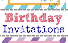 Free Printable Birthday Invitations For Kids