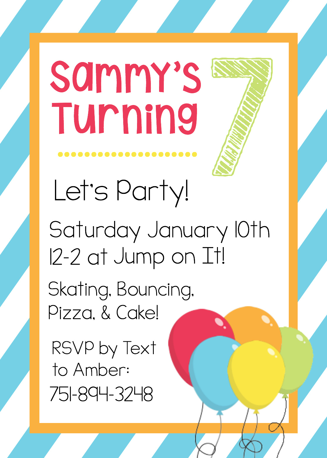 Free Printable Birthday Invitation Templates - Make Your Own Birthday Party Invitations Free Printable