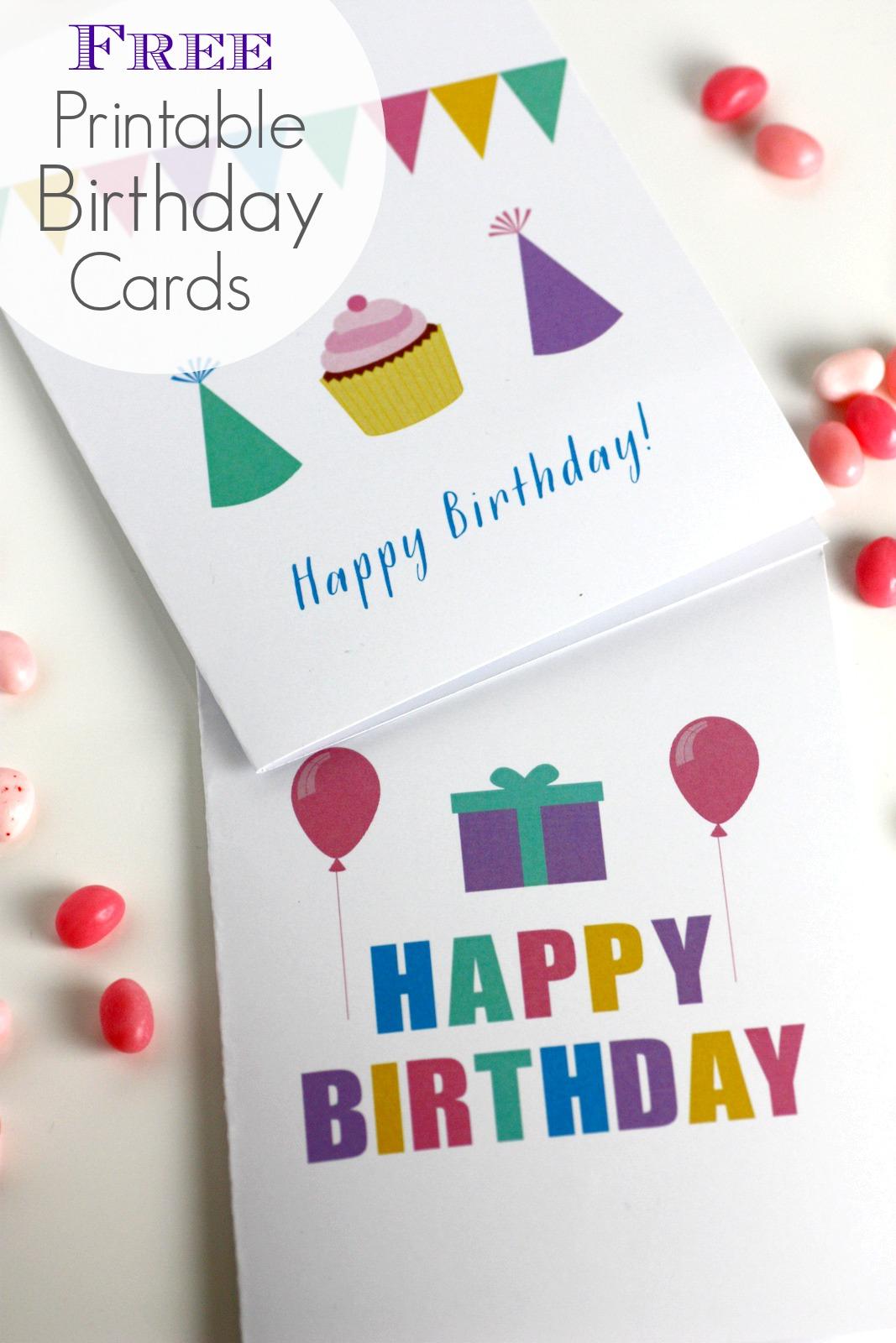 Free Printable Blank Birthday Cards   Catch My Party - Free Printable Birthday Cards For Adults