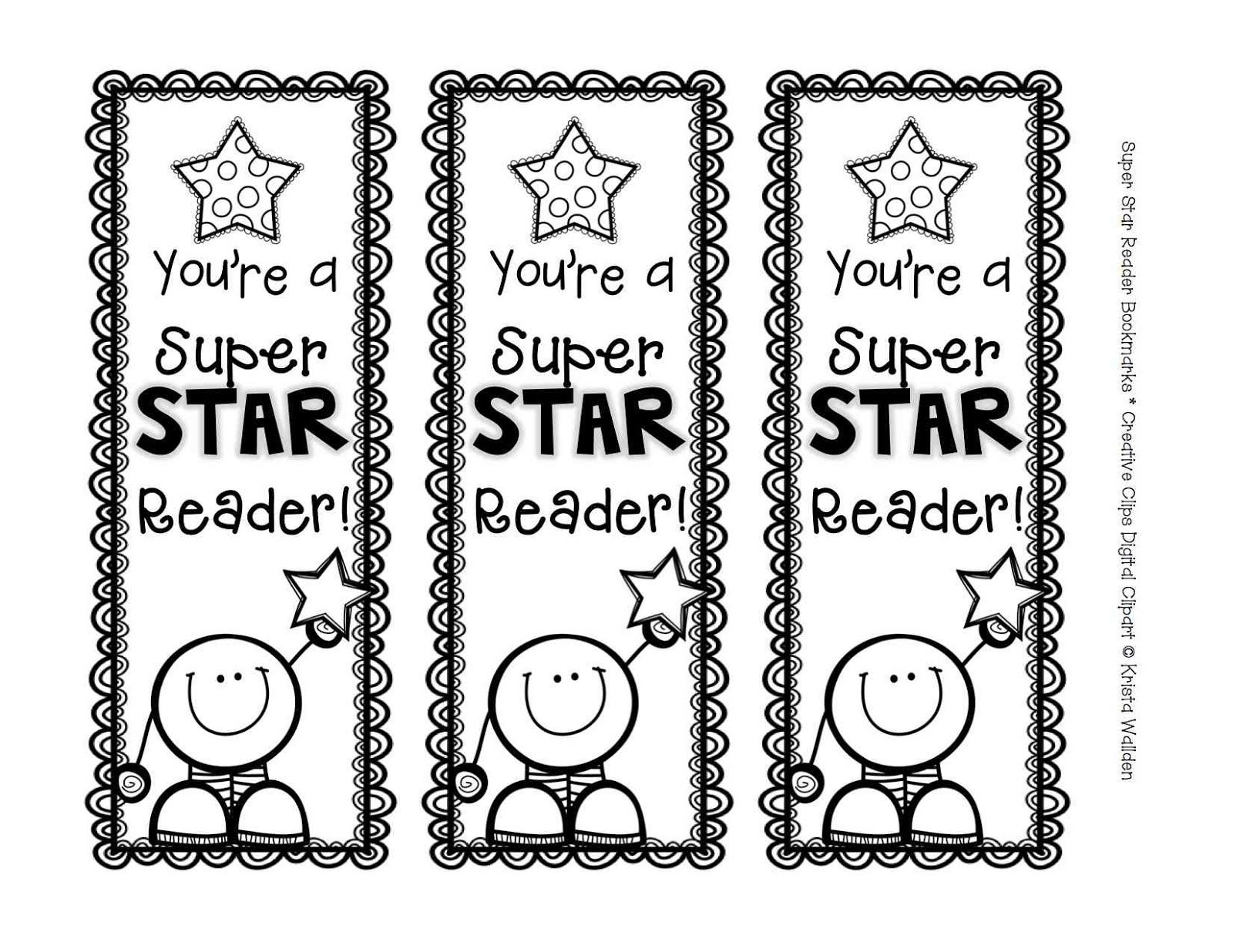 Free Printable Bookmark Templates To Color - Google Search - Free Printable Bookmarks For Libraries
