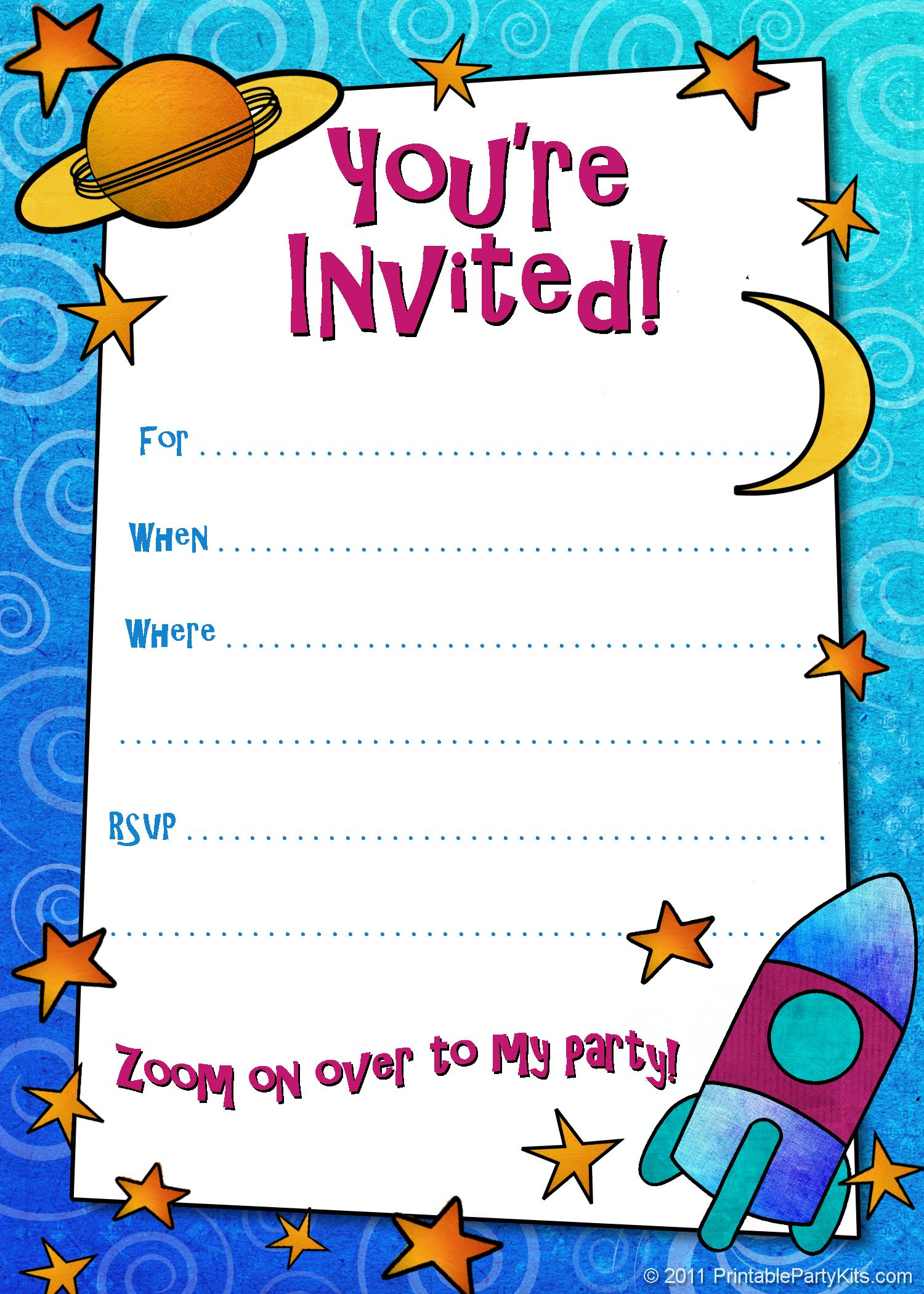 Free Printable Boys Birthday Party Invitations | Birthday Party - Make Your Own Birthday Party Invitations Free Printable