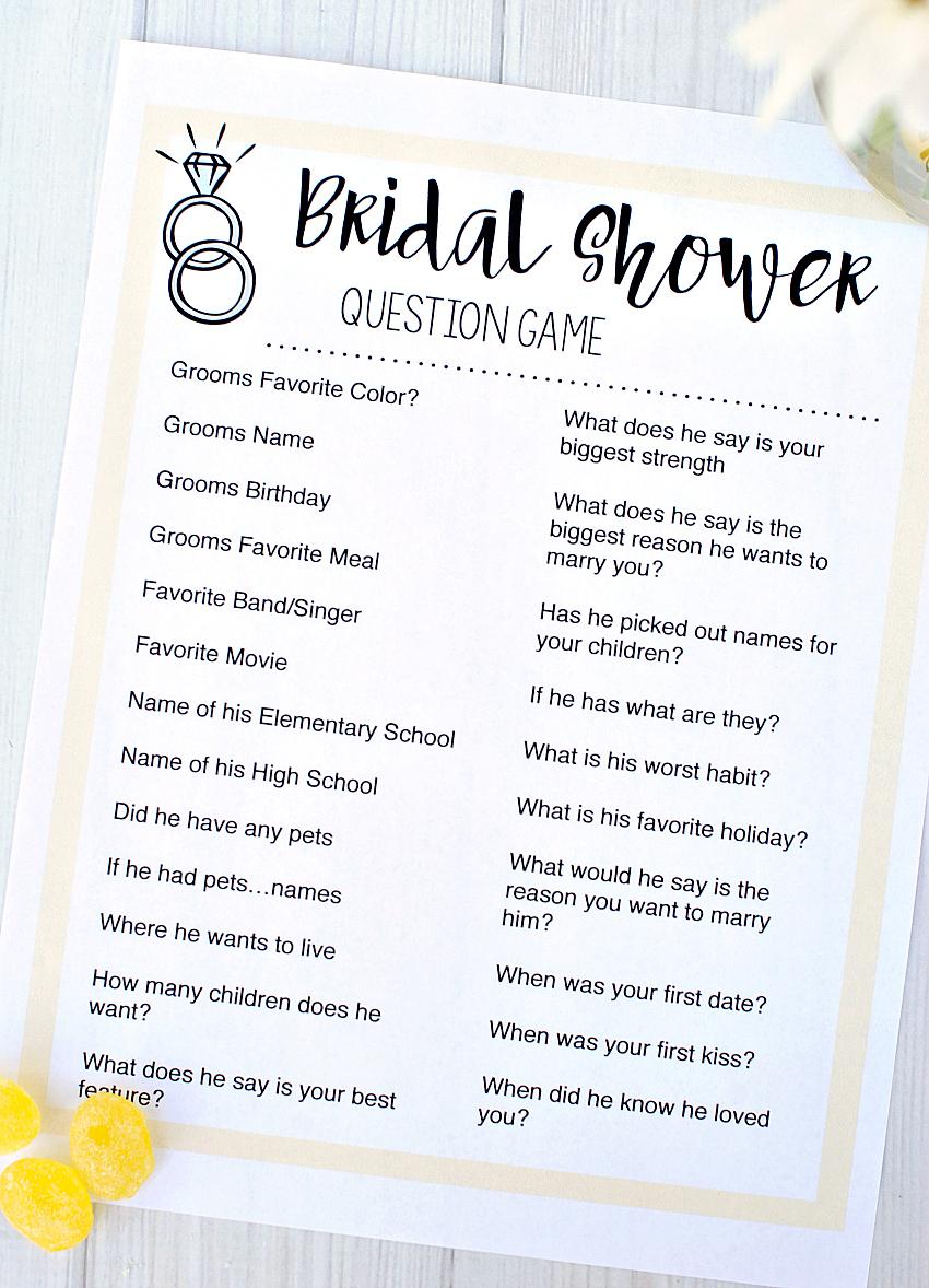 Free Printable Bridal Shower Games – Fun-Squared - Free Printable Bridal Shower Games