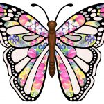 Free Printable Butterfly Clip Art Freeuse Download   Rr Collections   Free Printable Butterfly