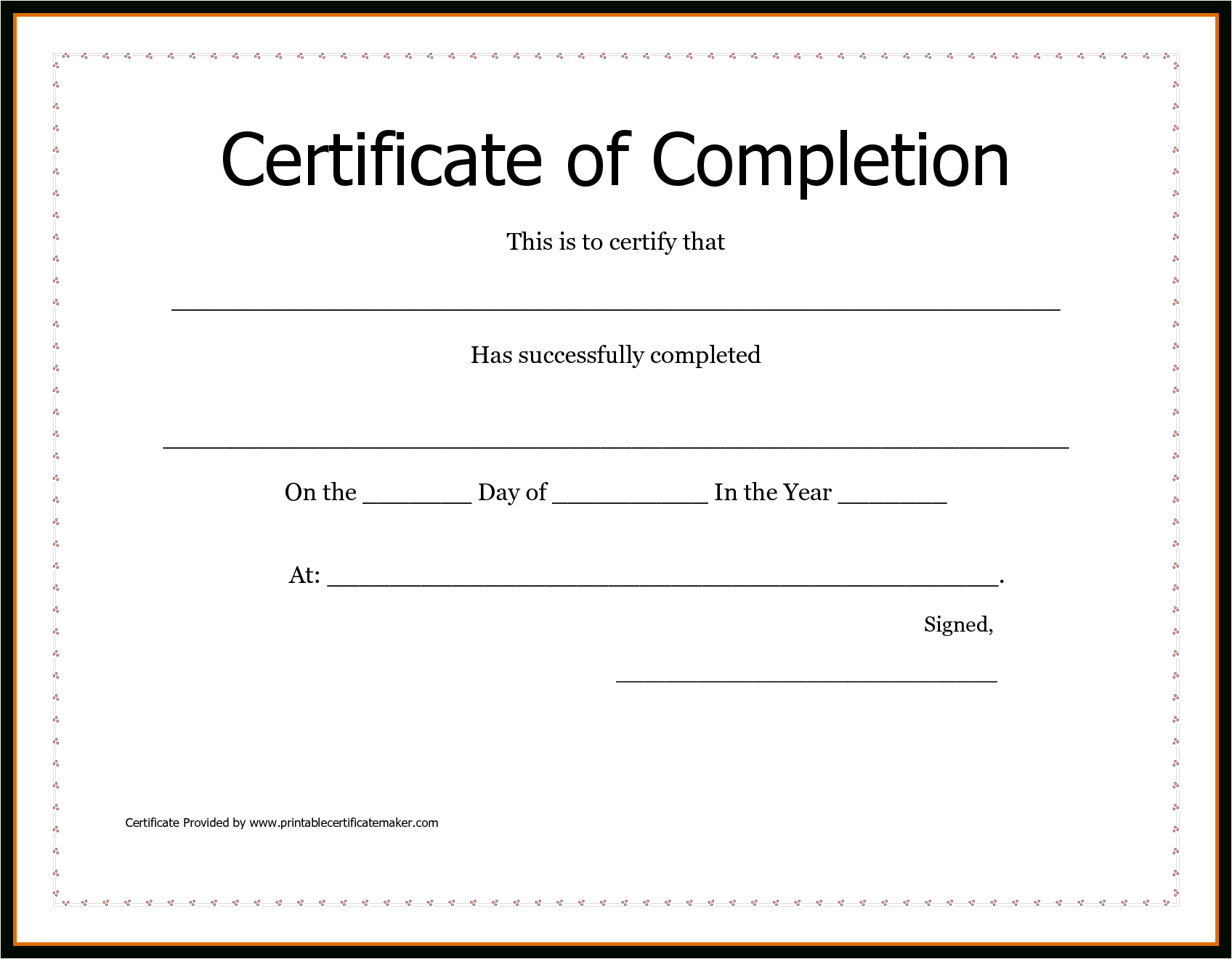 Free Printable Certificate Of Achievement Word Template Blank Letter - Free Printable Blank Certificates Of Achievement