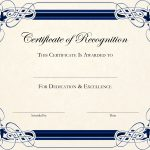 Free Printable Certificate Templates For Teachers | Besttemplate123   Free Customizable Printable Certificates Of Achievement