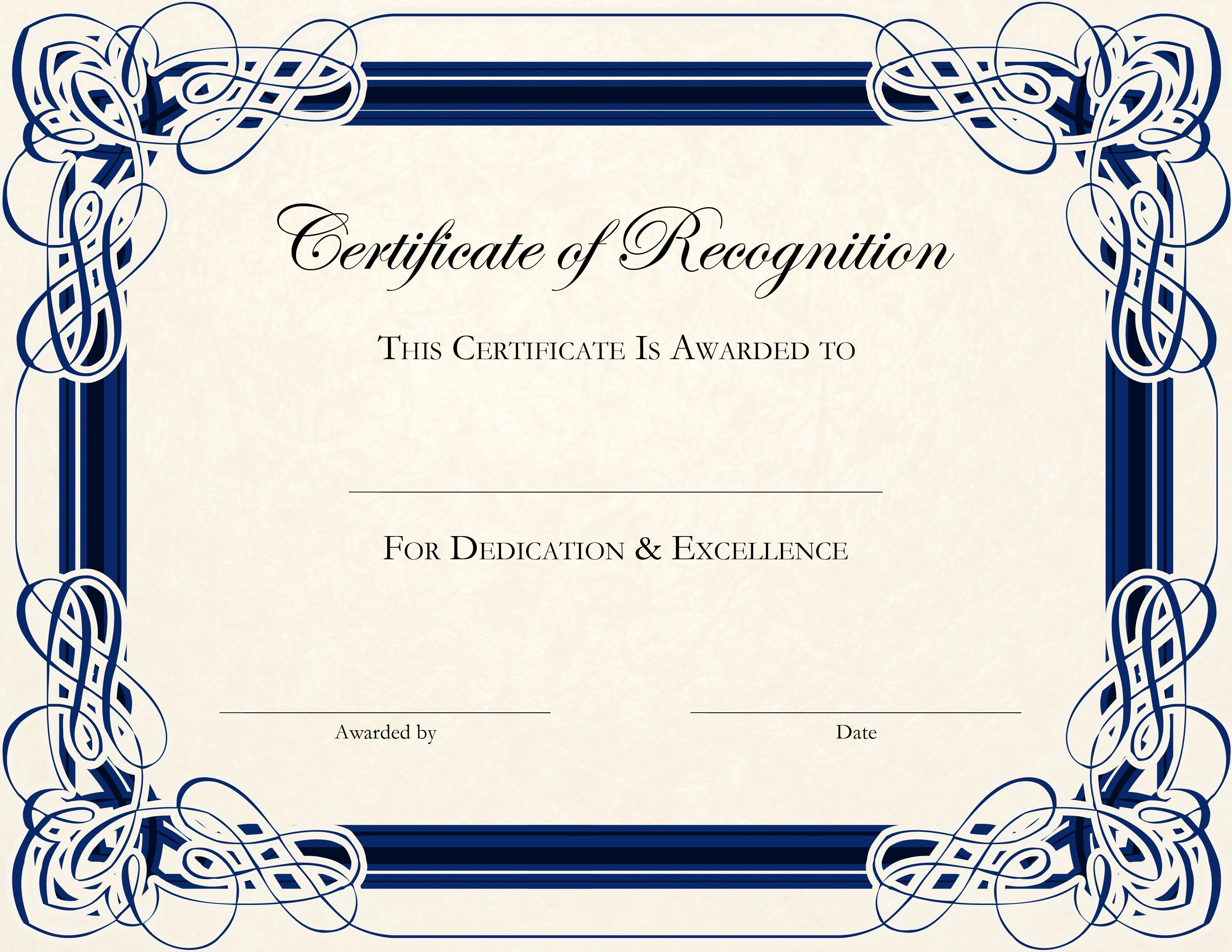 Free Printable Certificate Templates For Teachers | Besttemplate123 - Free Printable Certificate Templates