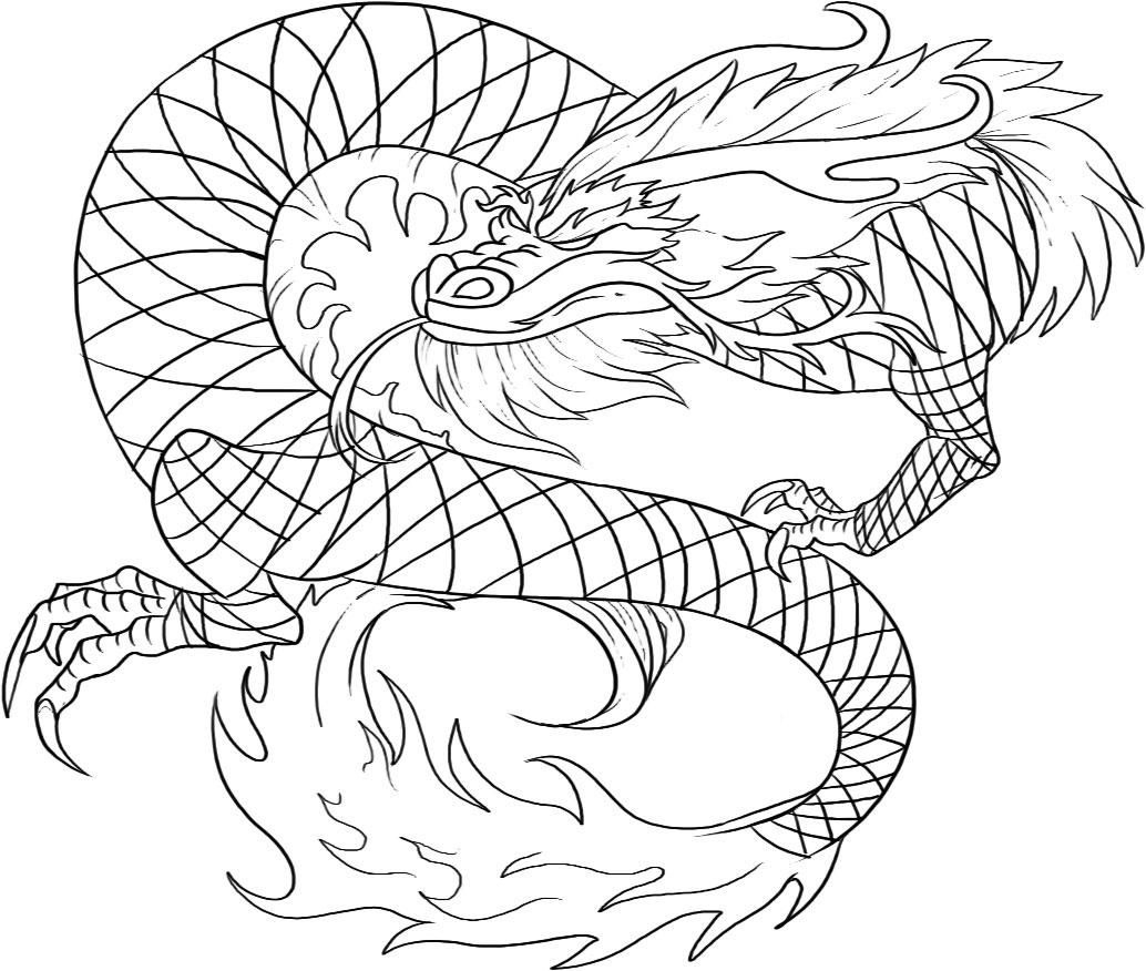 Free Printable Chinese Dragon Coloring Pages For Kids   Art - Free Printable Chinese Dragon Coloring Pages