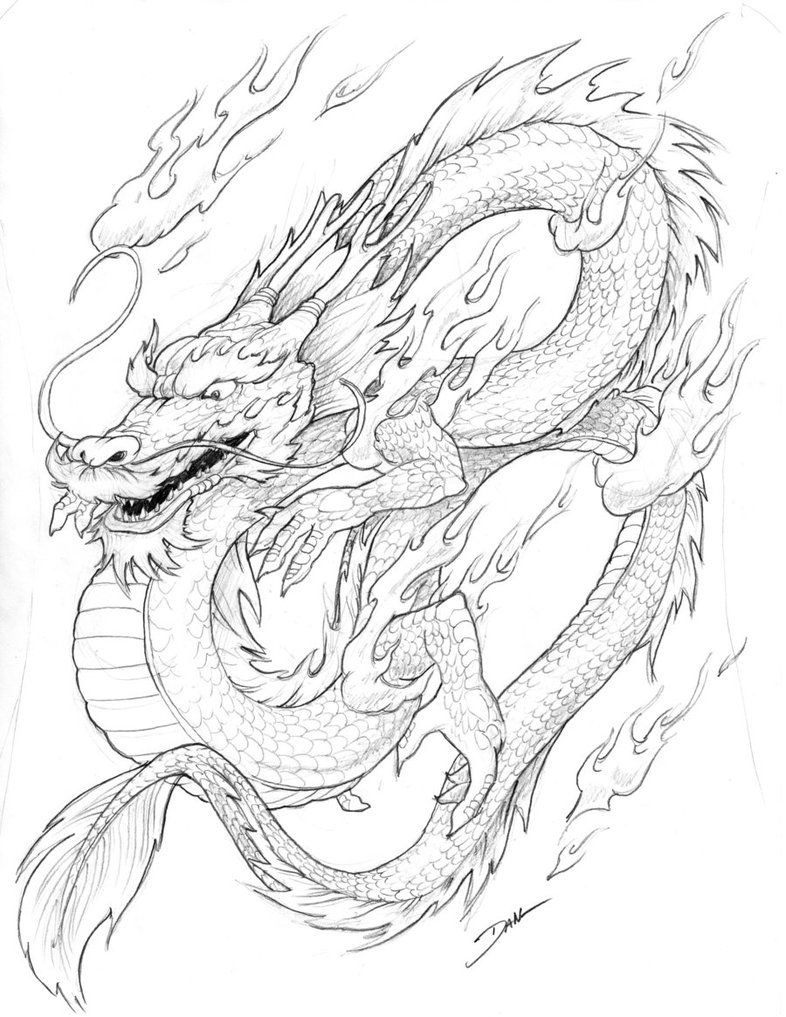 Free Printable Chinese Dragon Coloring Pages For Kids   School - Free Printable Chinese Dragon Coloring Pages