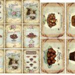 Free Printable Chocolate Vintage Labels. | Oh My Fiesta! In English   Free Printable Vintage Labels