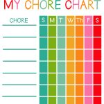 Free Printable Chore Charts For Kids! – Viva Veltoro – Free Printable Reward Charts For 2 Year Olds