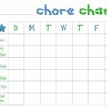 Free Printable Chore Charts For Toddlers   Frugal Fanatic   Free Printable Chore Charts For Kids