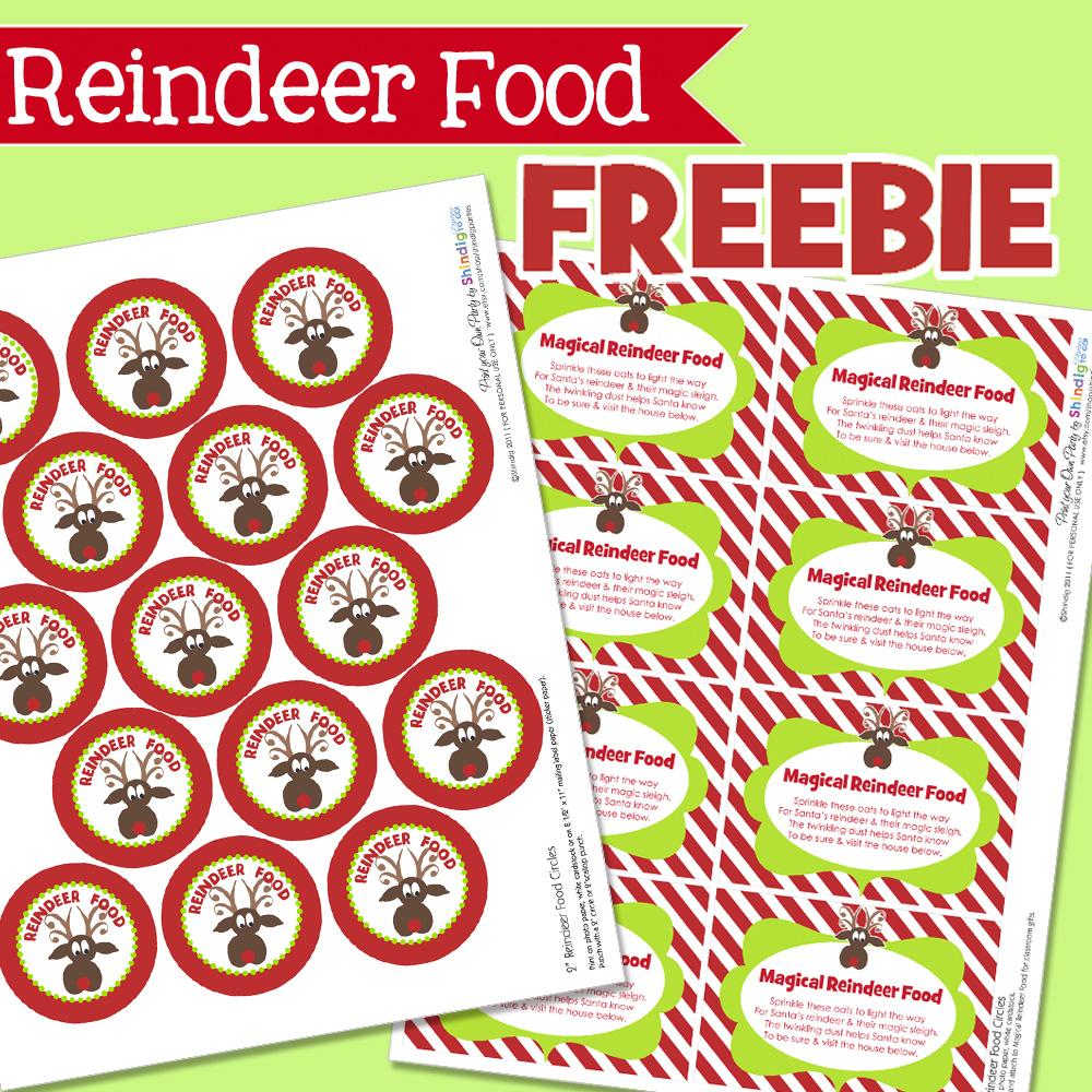 Free Printable Christmas Food Labels – Festival Collections - Free Printable Christmas Food Labels