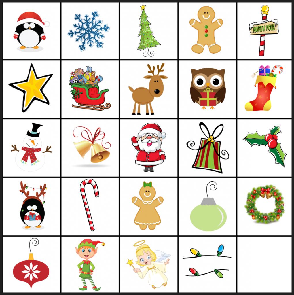 Free Printable Christmas Games: Christmas Matching Game | Pre K - Free Printable Christmas Games For Preschoolers