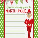 Free Printable Christmas Paper With Borders – Festival Collections – Free Printable Christmas Paper With Borders