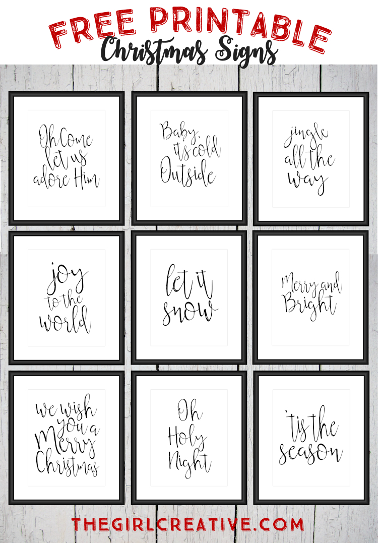 Free Printable Christmas Signs | The Top Pinned | Pinterest - Free Printable Holiday Closed Signs