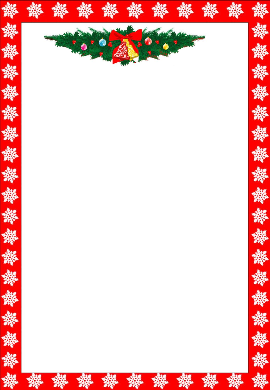 Free Printable Christmas Stationary Borders Trials Ireland - Free Printable Page Borders Christmas