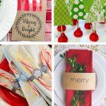 Free Printable Christmas Table Decor | Friday Favorite 5 | Moritz   Free Printable Christmas Decorations