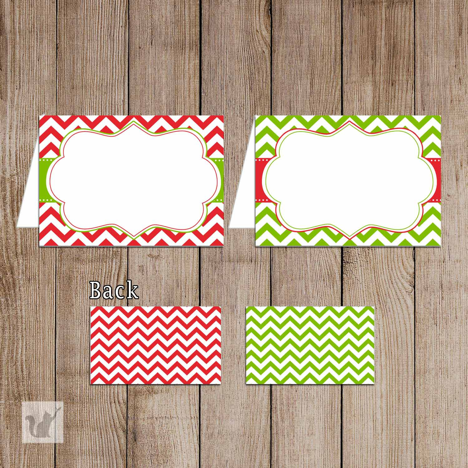 Free Printable Christmas Tent Cards – Festival Collections - Free Printable Christmas Tent Cards