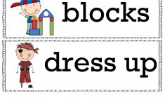 Free Printable Classroom Signs And Labels – Prntbl – Preschool Classroom Helper Labels Free Printable