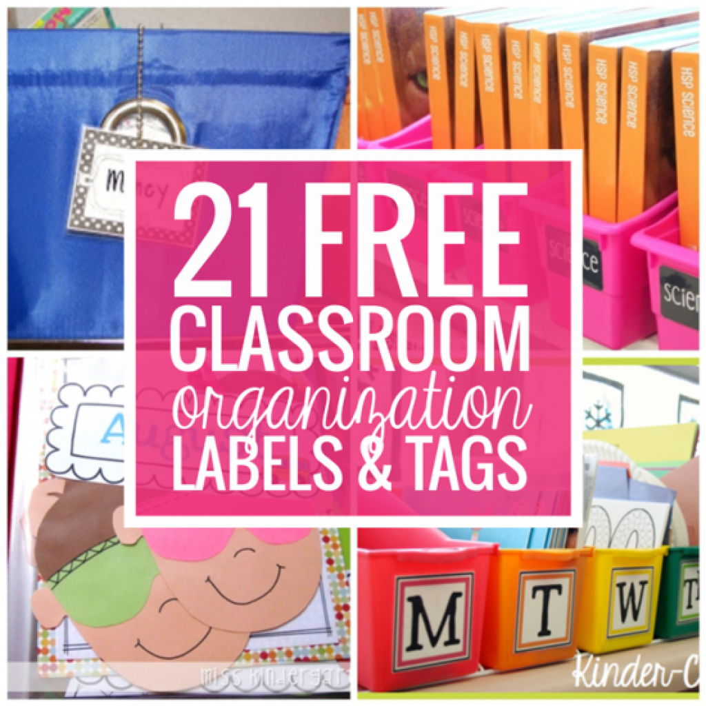 Free Printable Classroom Tray Labels | Free Printable - Free Printable Classroom Tray Labels