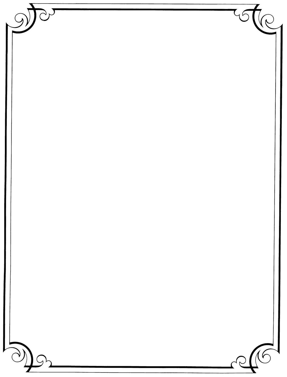 Free Printable Clip Art Borders |  : Free Vintage Clip Art - Free Printable Borders And Frames