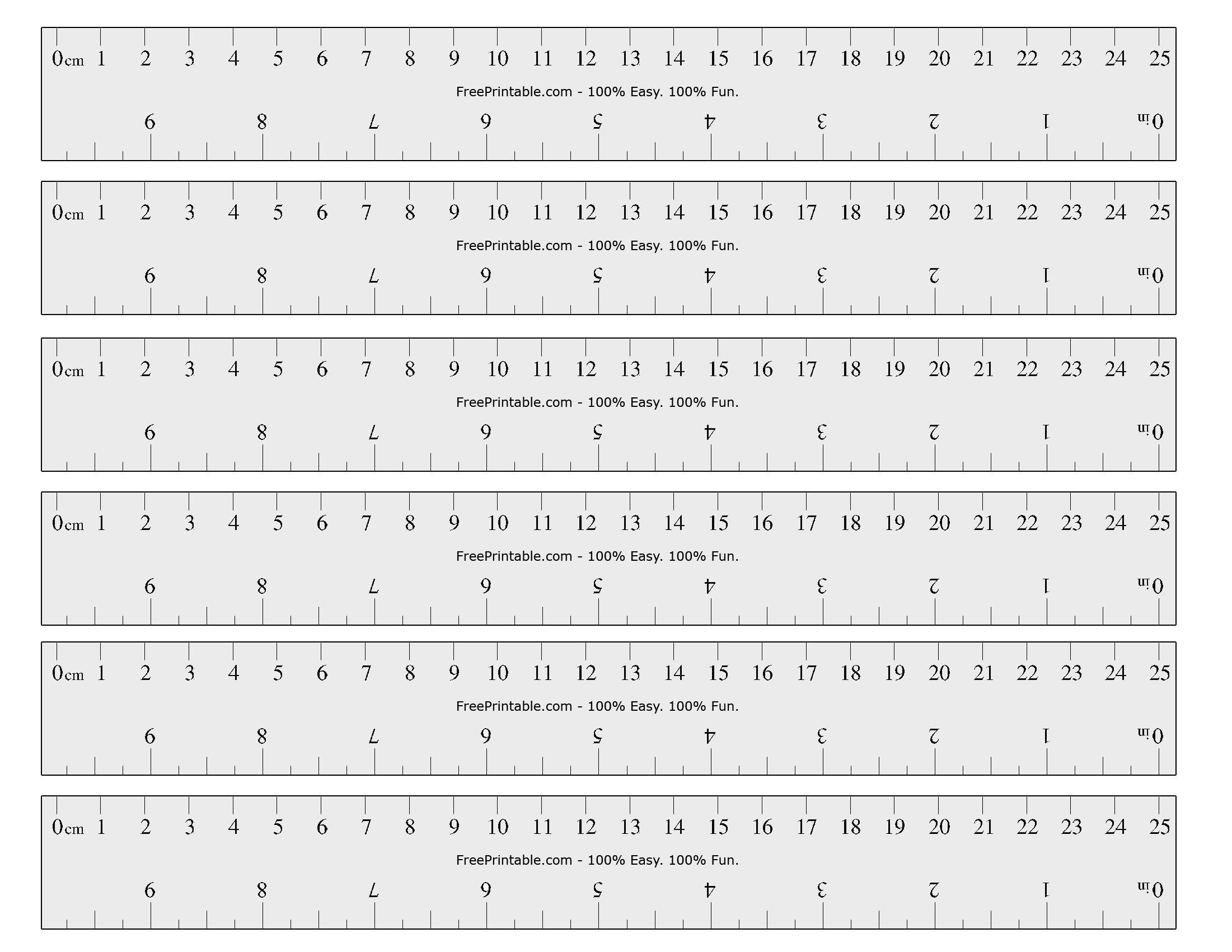 Free Printable Cm/inch Ruler | Math Mania!! - Free Printable Cm Ruler