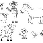 Free Printable Coloring Pages Farm Animals #17334   Free Printable Farm Animals