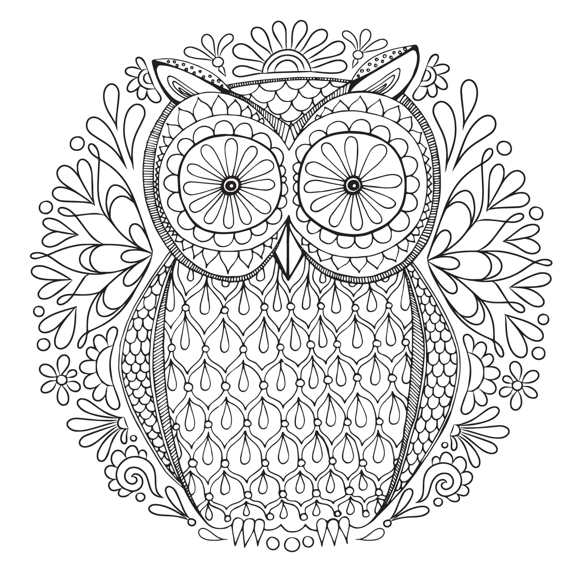 Free, Printable Coloring Pages For Adults - Free Printable Coloring Pages For Adults Only