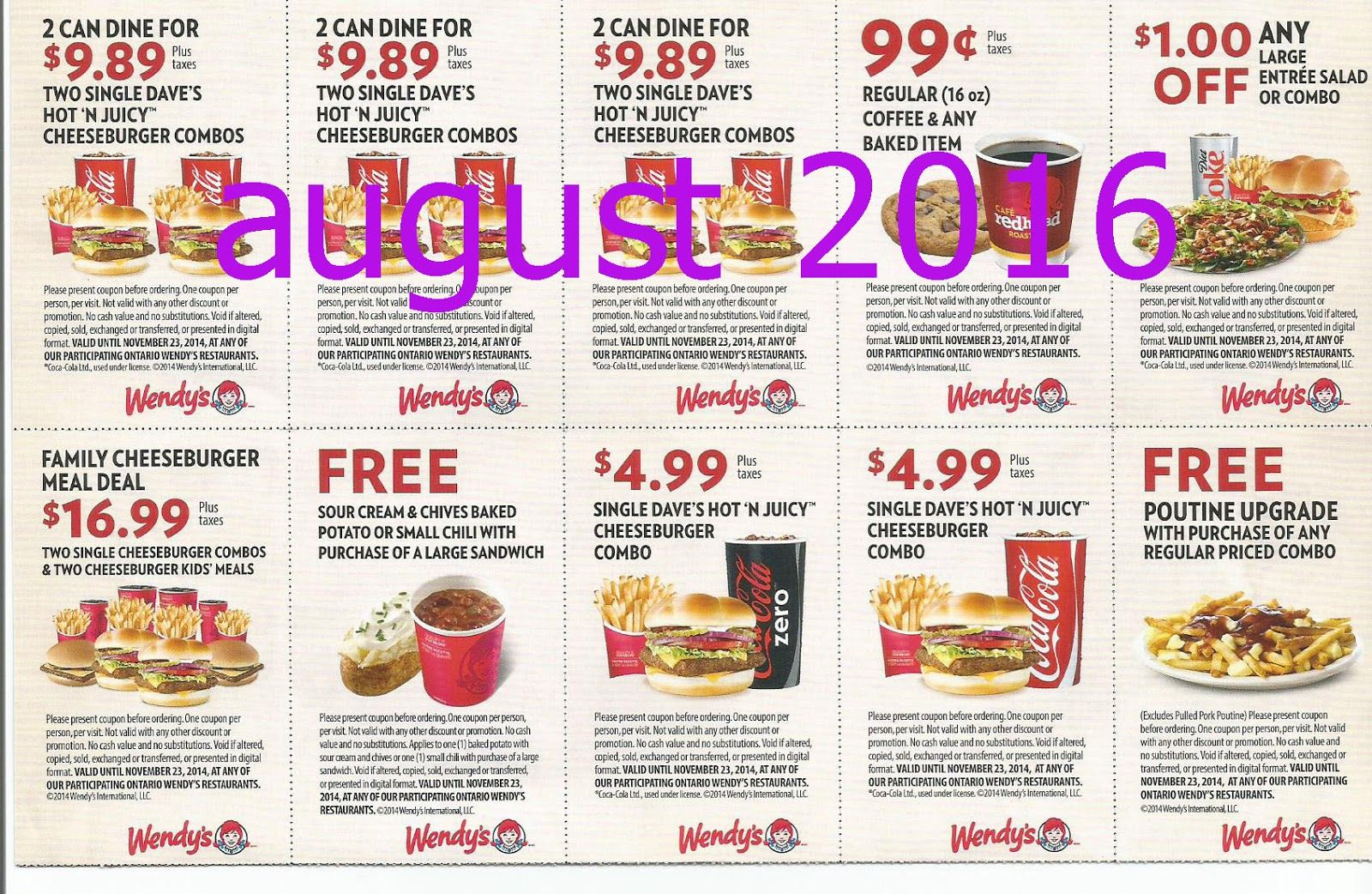 Free Printable Coupons: Wendys Coupons | Fast Food Coupons - Free Printable Coupons For Food