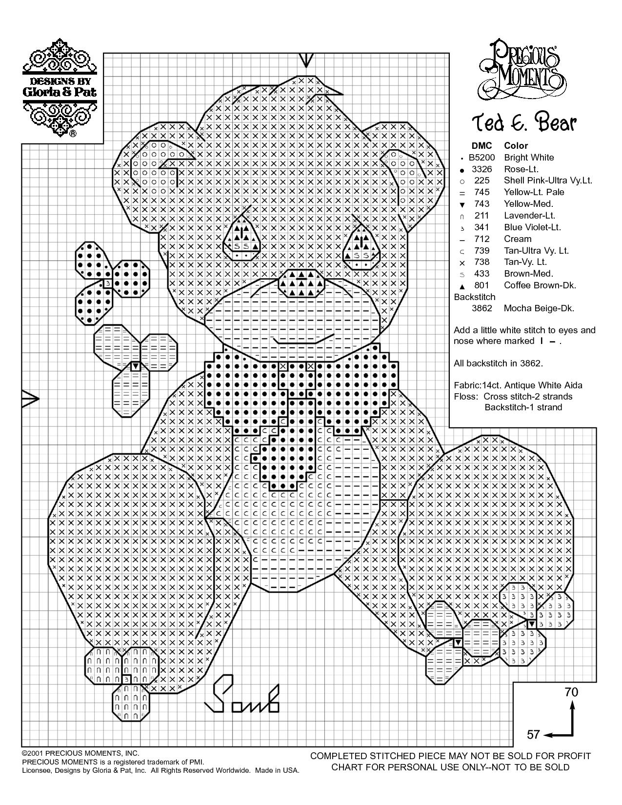 Free Printable Cross Stitch Patterns   Needlework Projects - Baby Cross Stitch Patterns Free Printable