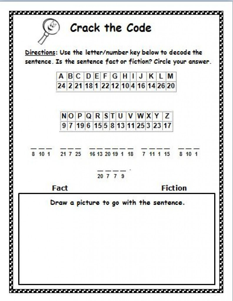 Free Printable Cryptograms | Free Printable - Free Printable Cryptograms