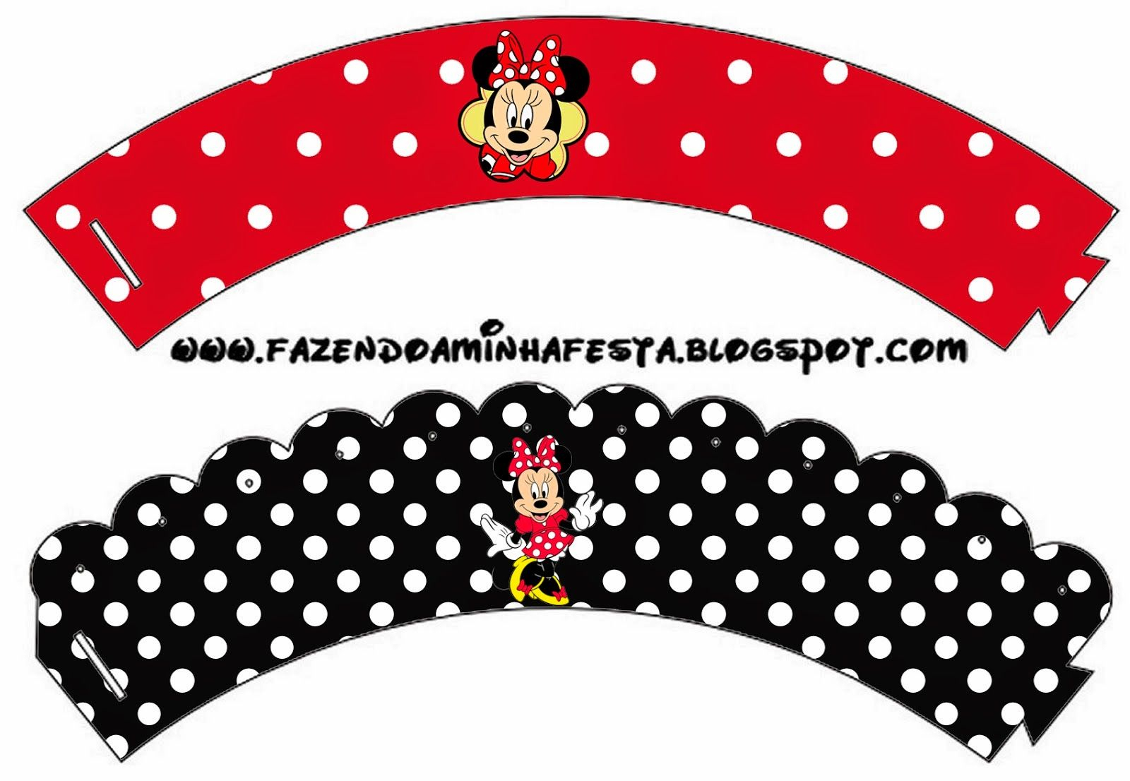 Free Printable Cupcake Wrappers. | C Cupcakes | Printables, Party - Free Printable Minnie Mouse Cupcake Wrappers