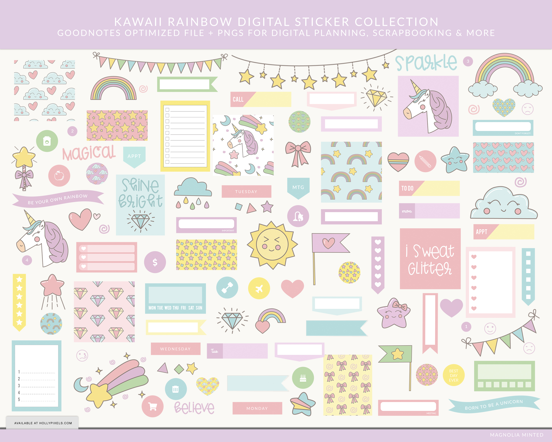 Free Printable Cute Kawaii Stickers | Www.galleryneed - Free Printable Kawaii Stickers