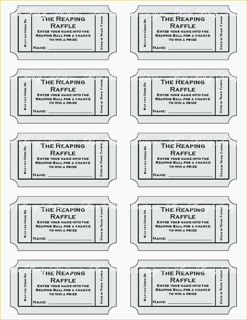 Free Printable Diaper Raffle Tickets Black And White | Download Them - Free Printable Diaper Raffle Tickets Black And White