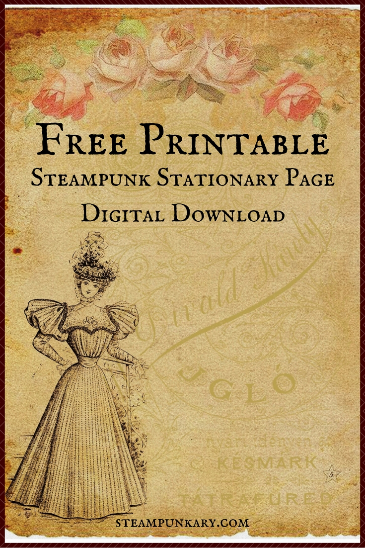 Free Printable Digital Download Stationary Page - Free Printable Stationery