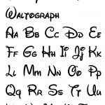Free Printable Disney Letter Stencils | Disney | Pinterest   Free Printable Calligraphy Letter Stencils