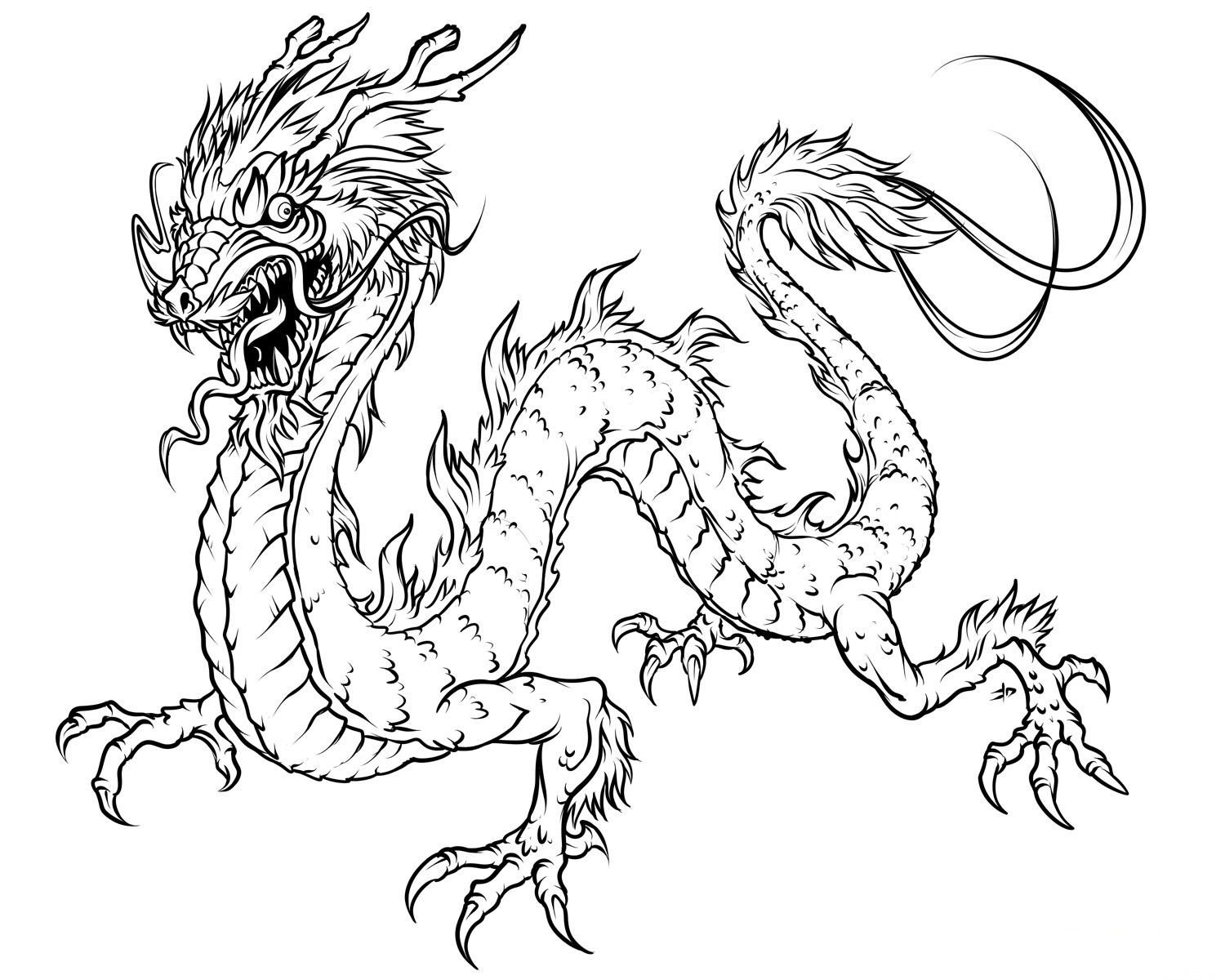 Free Printable Dragon Coloring Pages For Kids | Art | Dragon - Free Printable Dragon Stencils