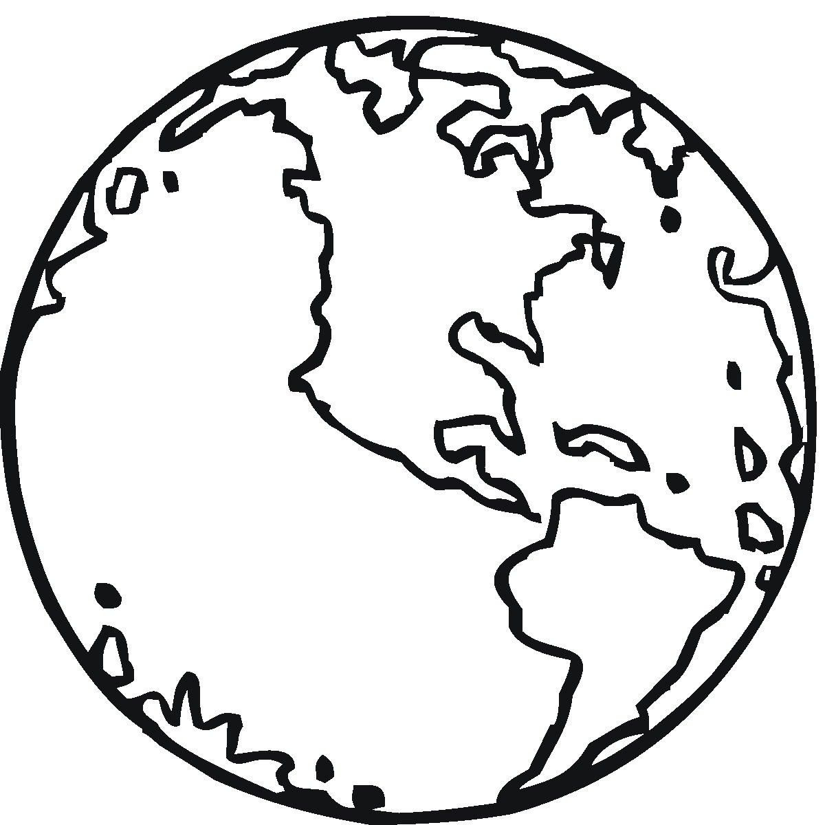 Free Printable Earth Coloring Pages For Kids | Stuff | Pinterest - Earth Coloring Pages Free Printable