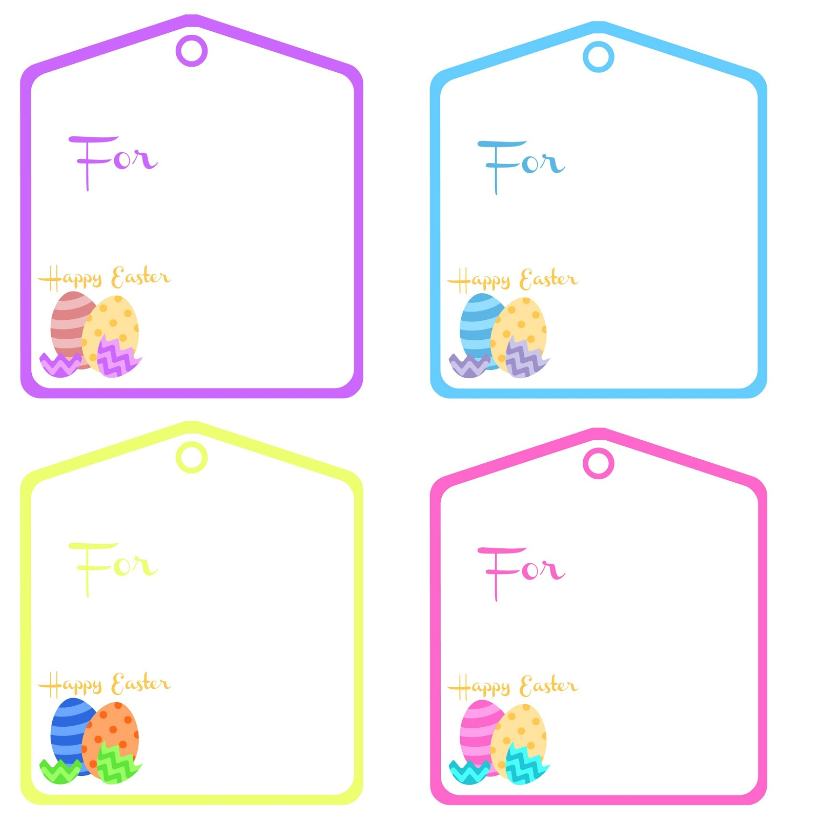 Free Printable Easter Basket Tags – Hd Easter Images - Free Printable Easter Basket Name Tags