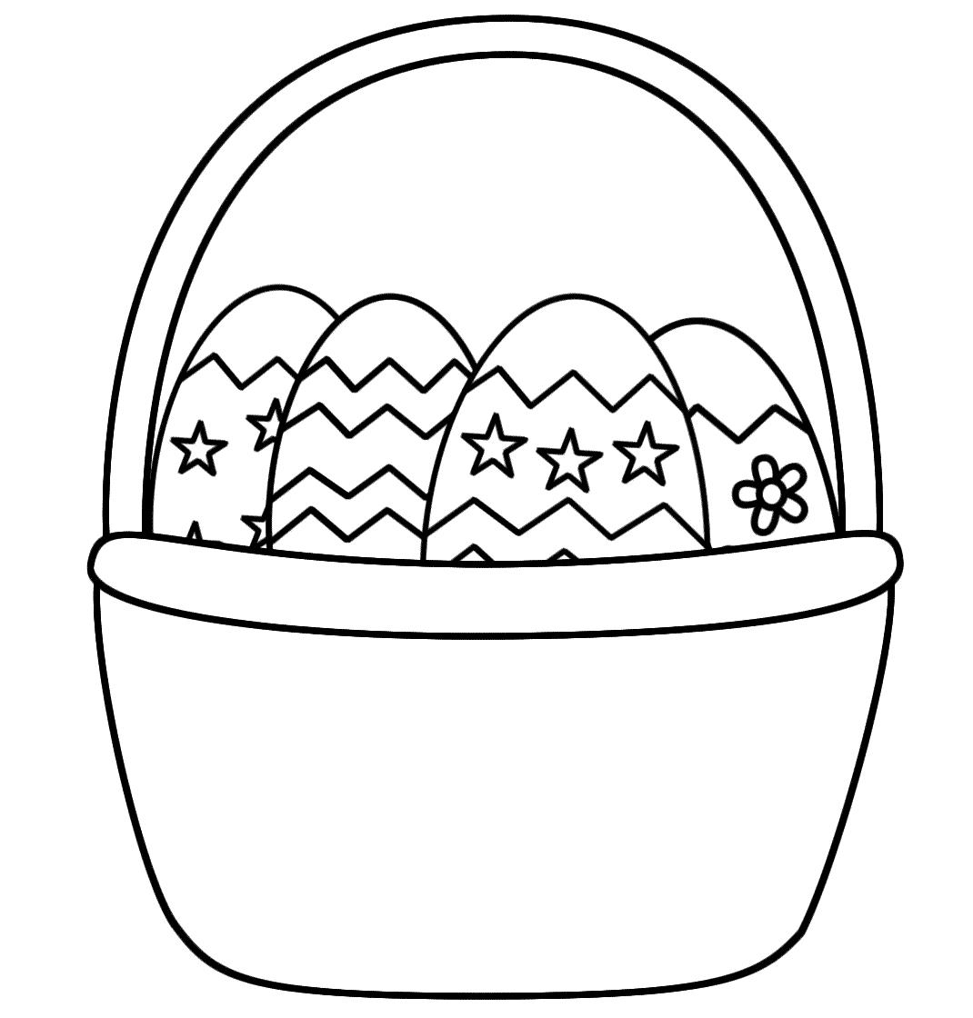 Free Printable Easter Basket Templates – Hd Easter Images - Free Printable Easter Egg Basket Templates