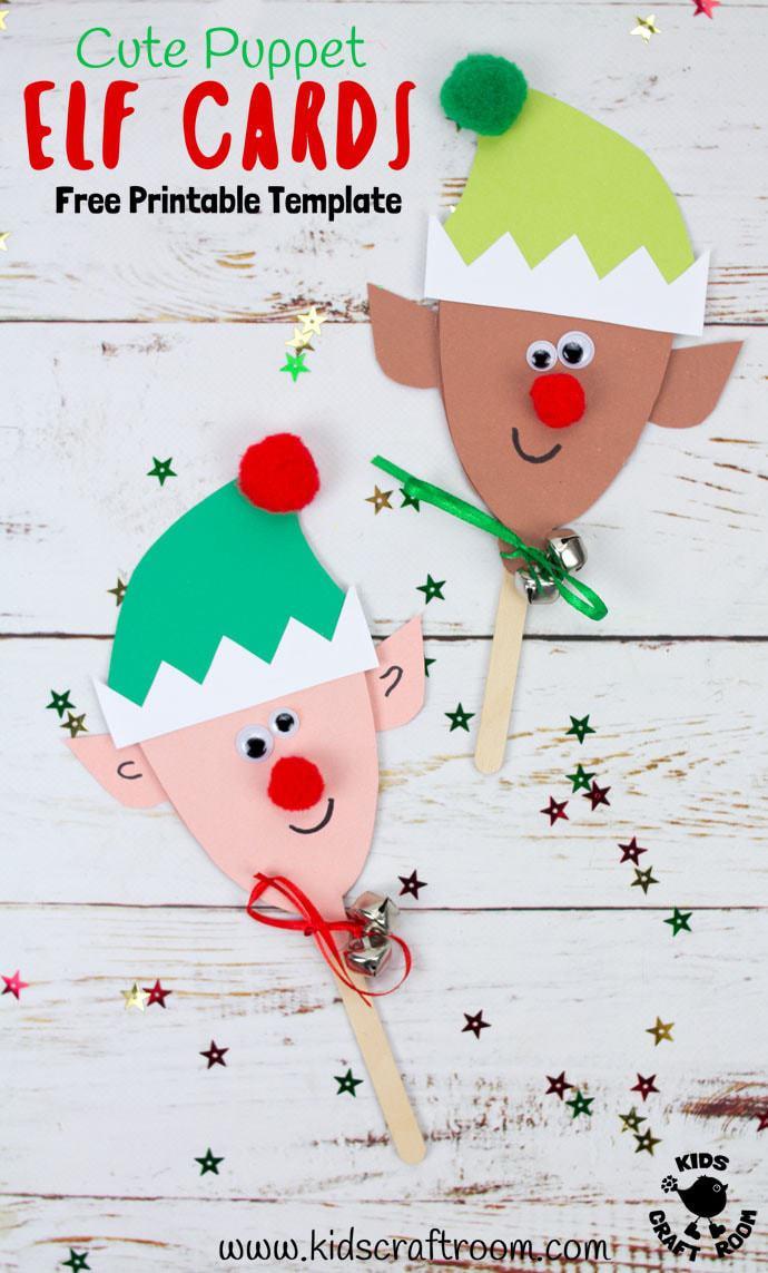 Free Printable Elf Card Template - Kids Craft Room - Free Printable Elf Pattern