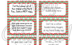 Free Printable – Elf On The Shelf Naughty Cards – Honeysuckle Footprints – Free Printable Elf On The Shelf Notes