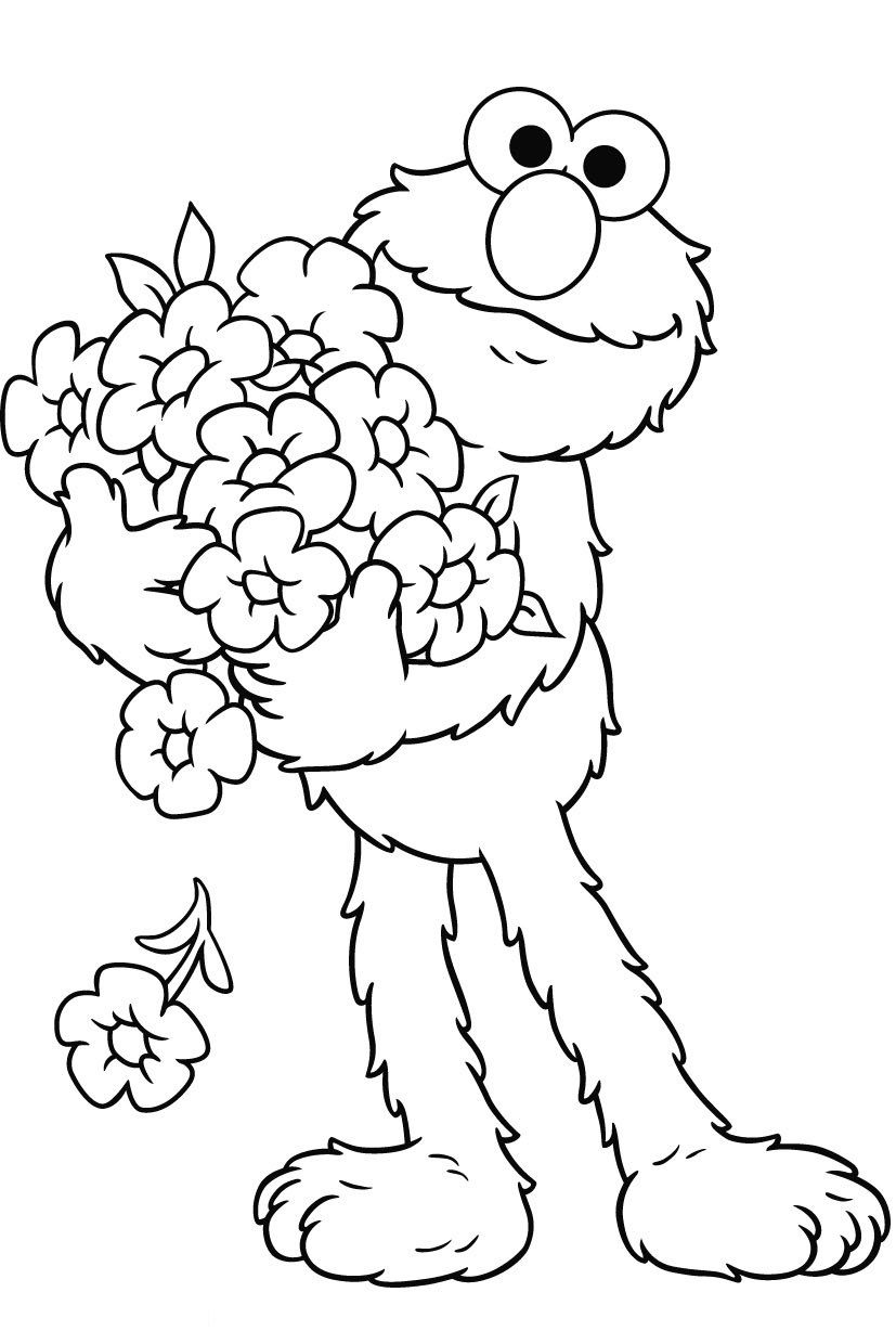Free Printable Elmo Coloring Pages For Kids | Fun Stuff :d - Elmo Color Pages Free Printable