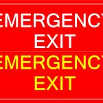 Free Printable Emergency Exit Sign | Templates At   Free Printable Emergency Exit Only Signs