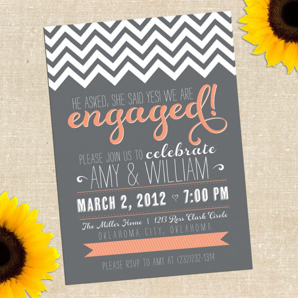 Free Printable Engagement Party Invitations Free Printable - Free Printable Engagement Party Invitations